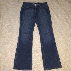 Gap Curvy Low Rise Stretch Long Jeans Size 6